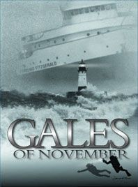 The Gales of November came early- The Sinking of the Edmund Fitzgerald. Lake Superior.  I remember....