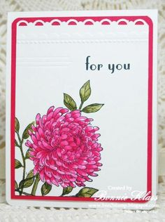 Forever Florals for Queen Jenn by bon2stamp - Cards and Paper Crafts at Splitcoaststampers