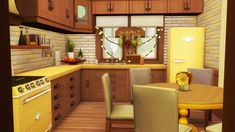 The Sims, Sims Love, Sims Cc, Sims 4 House Plans, Sims 4 House Building, Sims 4 Cc Furniture, Home Furniture, Sims 4 Family, Sims 4 Kitchen