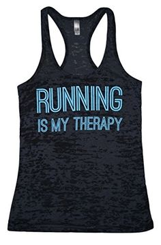 Running is My Therapy- Women's Black Burnout Racerback Ta... https://www.amazon.com/dp/B01H85ZPC2/ref=cm_sw_r_pi_dp_x_Xy5jybY7MZ0WR