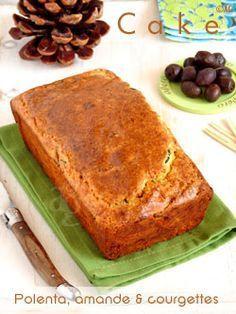 cake de polenta aux courgettes