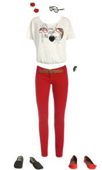 WetSeal.com Runway Outfit:  I love French by Darkchocolate96. Outfit Price $84.23