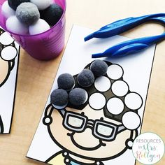 Looking for ideas to help celebrate the 100th day of school with your prekindergarten or kindergarten students? These fine motor activites are perfect for centers or rotations and provide low prep fun. Kinders will love the cutting activities, dotting fun, and the cover-up activity that focus on the number 100. Keep preschoolers busy and having fun with linking, hole punching, and letter writing tasks. Try these out during your 100th day celebration to add giggles and fun to the day. #preschool