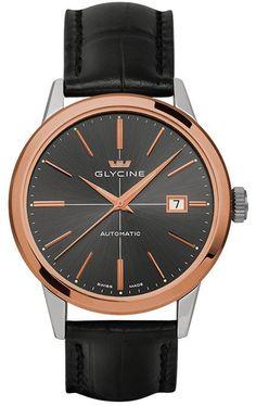 Glycine Watch Classic Automatic #bezel-fixed #brand-glycine #case-depth-10-90mm…