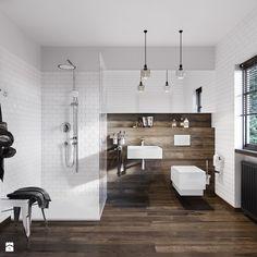 KLUDI TERCIO - Średnia łazienka na poddaszu w bloku w domu jednorodzinnym z oknem, styl eklektyczny - zdjęcie od KLUDI