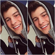 Shawn in his hoodie