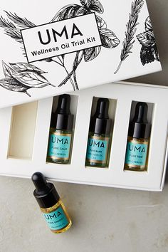 Slide View: 1: Uma Wellness Oil Kit
