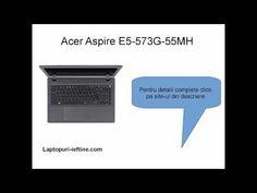 Prezentare #laptop Aspire E5-573G-55MH Core i5 Laptop Acer Aspire, Core