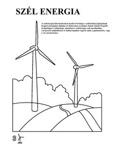 Free Printable Coloring Pages, Printable Worksheets, Renewable Energy, Solar Energy, Printable Pictures, Out To Lunch, Sign Templates, Wind Power, Green Day