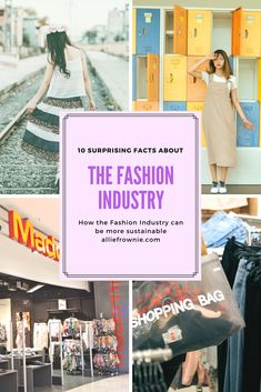 10 Surprising facts about Fashion Industry Vegan Fashion, Fast Fashion, Slow Fashion, Fashion Men, Fashion Design, Sustainable Clothing, Sustainable Fashion, Sustainable Living, American Made Clothing