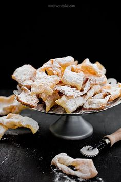 Polish Recipes, Polish Food, Dark Food Photography, Angel Wings, Donuts, Nom Nom, Cereal, Nutrition, Healthy Recipes
