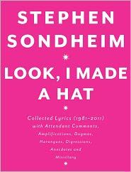 Legendary lyricist and composer Stephen Sondheim picks up where he left off in his acclaimed annotated collection Finishing the Hat. He packs this new volume with personal anecdotes, theater history, revealing photos, candid commentary, early drafts, and, of course, the complete lyrics to musicals including Sunday in the Park with George, Into the Woods, Assassins, and Passion. A treasure trove of American stage history for diehard fans and dabblers alike.  .