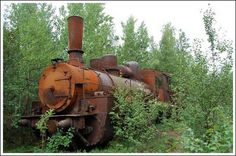 abandoned Engine in an undisclosed location.....