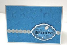 Pretty Five-Minute Card | AllFreePaperCrafts.com