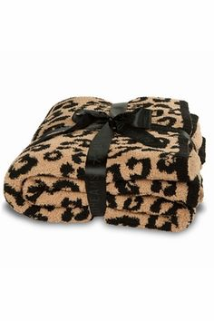 Barefoot Dreams Into The Wild CozyChic Leopard Throw : Think Her Best Seller at ThinkHer.com
