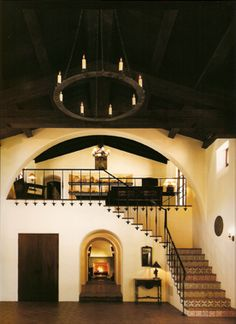 An Authentic Spanish Colonial Revival Hacienda - ~ ~ . - An Authentic Spanish Colonial Revival Hacienda An Authentic Spanish Colonial Revival Hacienda Mexican Hacienda, Hacienda Style Homes, Spanish Style Homes, Spanish House, Spanish Revival Home, Spanish Colonial Decor, Hacienda Kitchen, Spanish Style Decor, Spanish Style Interiors