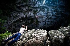 La cueva vertical más bella del planeta (Sótano de las Golondrinas)