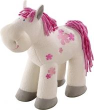 Sissi the horse will become any child's best friend. Great addition to any HABA doll collection as your dolls can take Sissi for a ride or to the stables. For the budding equestrian horse lover! Phil And Teds Lobster, Plush Horse, Pretty Blue Eyes, Natural Toys, Little Doll, Baby Games, Sissi, Fairy Dolls, Soft Dolls