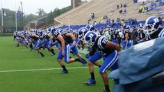 The #Dukegang is ready to get it on!