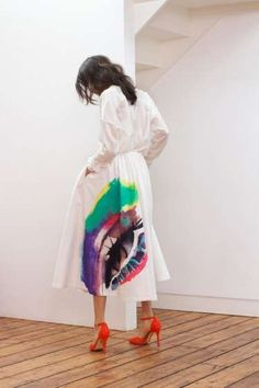 Relaxed Watercolor Fashion - The Isa Arfen Spring/Summer 2014 Collection is Cute and Chromatic