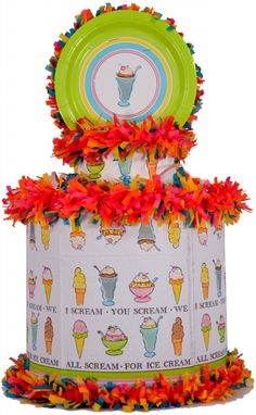 World of Pinatas - Ice Cream pinata, $27.99 (http://www.worldofpinatas.com/ice-cream-pinata/)