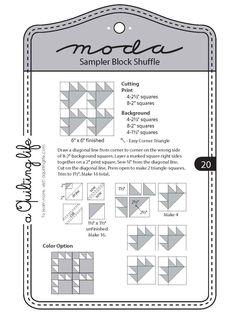 moda sampler shuffle - Google Search