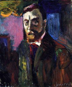 Henri Matisse - Autoportrait de 1900 / #art