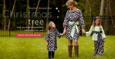 Perfect Christmas Card outfits for us this year!  Family Matching Apparel by www.lollywollydoodle.com