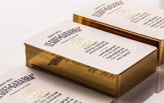 Business Cards // Branding & Identity >> Le Goff & Gabarra
