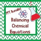 Balancing Chemical Equation PPT Bundle with Student Notes included. Used in 8th grade Genetics Unit. Has lots of pictures and examples! http://undeniabledabbler.blogspot.com/