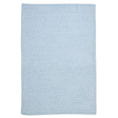 Charlton Home Gibbons Sky Blue Indoor/Outdoor Area Rug Rug Size: Square 4'