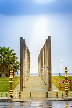 Sizilien - Palermo - Kunst am Meer http://www.trip-tipp.com/sizilien/ausfluege-stadt/palermo.htm #sicily #sicilia #italien #italy #italia #art