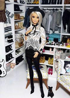 Barbie Model, Barbie Doll House, Barbie Life, Diy Barbie Clothes, Barbie Clothes Patterns, Girl Doll Clothes, Barbie Tumblr, Barbie Fashionista Dolls, Beautiful Barbie Dolls