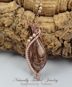Royal Imperial Jasper Cabochon Copper Wire Wrapped by MaryOlczyk, $51.00
