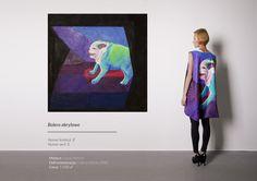 LASEM cloth made from painting of Gucia Merrcri $500 #LASEM #deframestracja #clothing