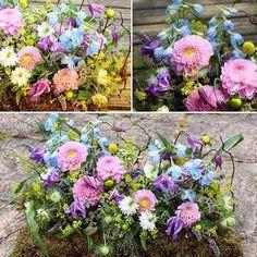 Summer Garden Pillow  #inlovingmemory #sympathyflowers #funeralpillow #seasonalflowers #freshflowers #bespokeflowers #floralelements #rochesterflorist #stroodflorist #medwayflorist
