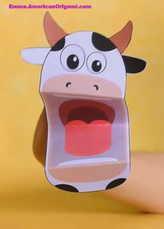 Printable cow puppet crafts for kids. Printable cow puppet crafts for kids. Farm Animal Crafts, Animal Crafts For Kids, Summer Crafts For Kids, Paper Crafts For Kids, Toddler Crafts, Crafts To Do, Hobbies And Crafts, Preschool Crafts, Art For Kids