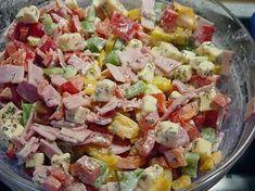 Paprika - Käse - Salat