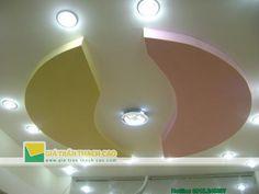 Thiết kế trần thạch cao phòng khách theo phong cách hiện đại