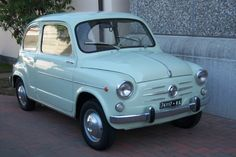 """We have 2 of these, including 1 with """"suicide doors"""" (as pictured). Both ready to go to uniquely discerning people of taste and character! Fiat 600, Escort Mk1, Ford Escort, Pretty Cars, Cute Cars, Veteran Car, Learning To Drive, Back In The Day, Old Cars"""