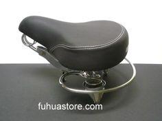 1 Bicycle Beach Cruisers Saddle Large 841 Brown Chopper Comfort Bike Seat
