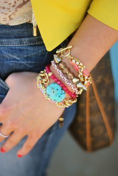 Summer arm candy