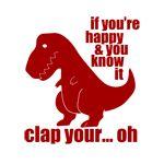 Oh, poor T-Rex...