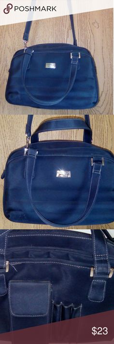 The Flier New York cross body and hand organizer The Flier New York organizer bag/purse..Navy Blue The Flier New York Bags Crossbody Bags
