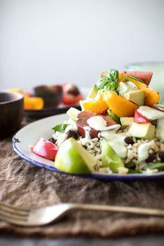 Tomato Basil Risotto | The Flourishing Foodie | Eats :: Rice//Quinoa ...