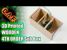 "6th Order Compound Loaded Isobaric Bandpass Box - 2 12"" Woofers - YouTube"