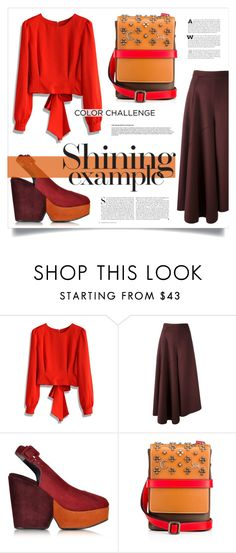 """""""SHINE"""" by virgamaleva ❤ liked on Polyvore featuring Chicwish, Ports 1961, Robert Clergerie and Kershaw"""