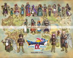 Dragon Quest IX Warriors Wallpaper, Pokemon, Dragon Warrior, Akira, Hd Wallpaper, Character Art, Geek Stuff, Sketches, Fan Art