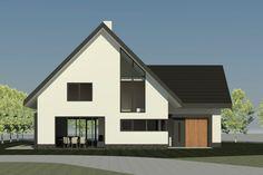 Nieuwbouwwoning Hattemse Loo 9 in Hattem   Ontwerp van AL architecten BNA voor een nieuw te bouwen vrijstaande woning in Plan Hattemse Loo, Hattem