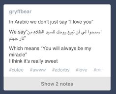 I don't speak Arabic but this is adorable